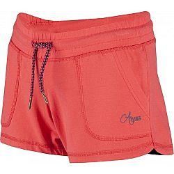 Aress KARIN oranžová 152-158 - Dievčenské športové šortky
