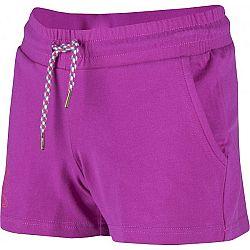 Aress LUCY fialová 152-158 - Dievčenské športové šortky