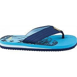 Aress ZLATKO modrá 32 - Detské žabky
