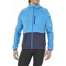 Asics PACKABLE JACKET modrá XL - Pánska bežecká bunda