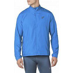 Asics SILVER JACKET modrá XL - Pánska bežecká bunda
