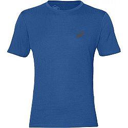 Asics SILVER SS TOP sivá S - Pánske bežecké tričko