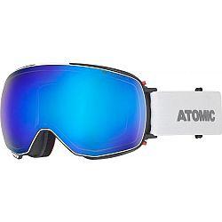 Atomic REVENT Q STEREO biela NS - Unisex lyžiarske okuliare