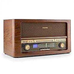Auna Belle Epoque 1906, retro stereo systém, CD, USB, MP3, FM