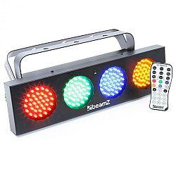 Beamz DJ Bank, 140 RGBA LED diód