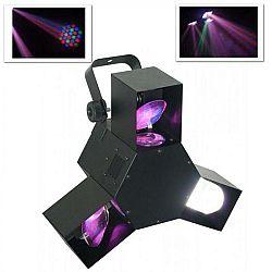 Beamz LED Triple Flex, LED diódový svetelný efekt, 8-kanálov