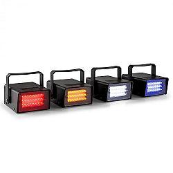 Beamz Mini, sada štyroch LED stroboskopov v RGBW
