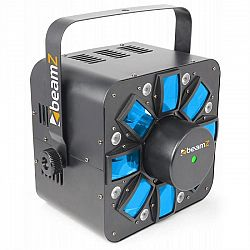 Beamz Multi Acis III, LED svetelný efekt, stroboskop, laser, RGBAW, vrátane držiaka