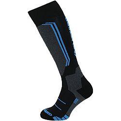 Blizzard ALLROUND WOOL SKI SOCKS JR modrá 24-26 - Detské lyžiarske ponožky