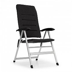 Blumfeldt Almagro, záhradná stolička, hliníková, penová podložka, čierna