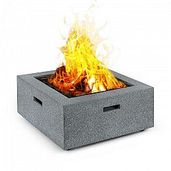 Blumfeldt Karthago, ohnisko, 40 x 40 cm, BBQ jama, ochrana pred iskrami, MagicMag, žulový vzhľad