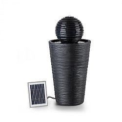 Blumfeldt Liquitorre, solárna fontána, 200 l/h, solárny panel, 2 W, akumulátor, LED, polyresin