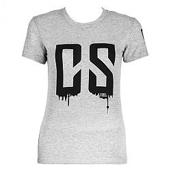Capital Sports Beforce, veľkosť M, sivé, tréningové tričko, dámske
