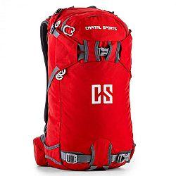 Capital Sports CS 30, 30l, ruksak na šport a voľný čas, nylón odpudzujúci vodu, červený