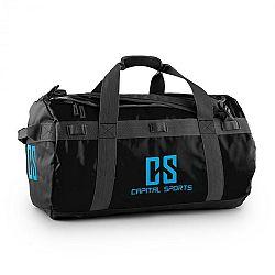 Capital Sports Travel M, cestovná taška, ruksak, 60 l, nepremokavý, čierny