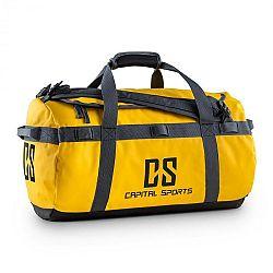 Capital Sports Travel S, 45l, športová taška/ruksak, odpudzujúca vodu, žltá