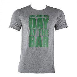 Capital Sports veľkosť S, sivé, tréningové tričko, pánske