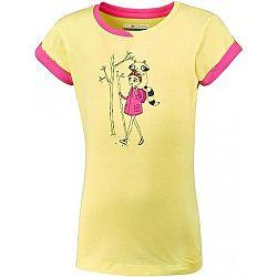 Columbia GIRLS LOST TRAIL SS TEE ružová M - Detské tričko