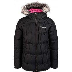 Columbia GYROSLOPE JACKET™ čierna XL - Dievčenská lyžiarska bunda