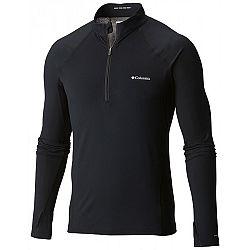 Columbia MIDWEIGHT LS HZ M čierna M - Pánske funkčné tričko
