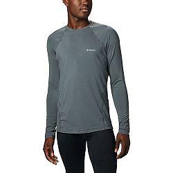 Columbia MIDWEIGHT LS TOP M tmavo sivá M - Pánske funkčné tričko
