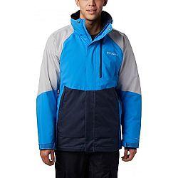 Columbia WILDSIDE™ JACKET modrá L - Pánska bunda