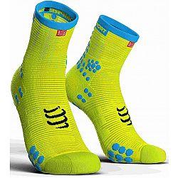 Compressport RACE V3.0 RUN HI čierna T2 - Bežecké ponožky