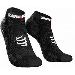 Compressport RACE V3.0 RUN LO čierna T4 - Bežecké ponožky