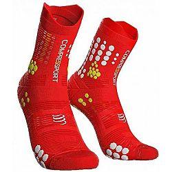 Compressport RACE V3.0 TRAIL čierna T3 - Bežecké ponožky