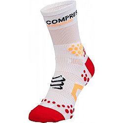 Compressport RUN HI V2.1 červená T2 - Kompresné ponožky