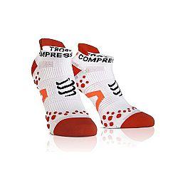 Compressport RUN LO modrá T2 - Kompresné ponožky