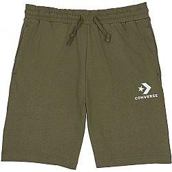 Converse STAR CHEVRON KNIT SHORT zelená M - Pánske šortky