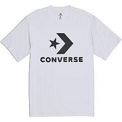 Converse STAR CHEVRON TEE biela M - Pánske tričko