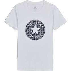 Converse VOLTAGE CHUCK PATCH NOVA TEE biela XS - Dámske tričko