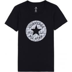Converse VOLTAGE CHUCK PATCH NOVA TEE čierna XS - Dámske tričko