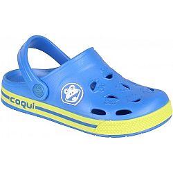 Coqui FROGGY modrá 34/35 - Detské sandále