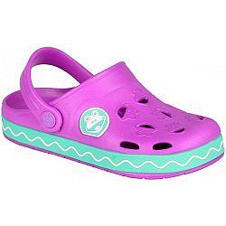 Coqui FROGGY ružová 34/35 - Detské sandále