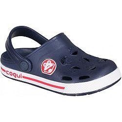 Coqui FROGGY tmavo modrá 28/29 - Detské sandále