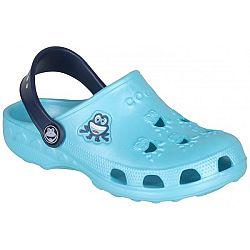 Coqui LITTLE FROG modrá 23-24 - Detské sandále