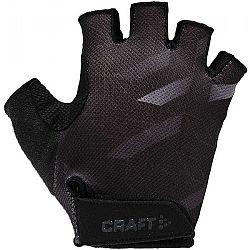 Craft BIKE JR čierna 122/128 - Detské cyklistické rukavice