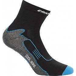 Craft COOL BIKE čierna 34/36 - Cyklistické ponožky