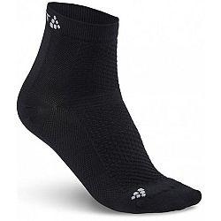 Craft COOL MID 2-PACK čierna 40/42 - Športové ponožky