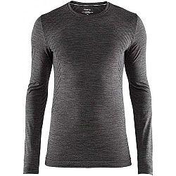 Craft FUSEKNIT COMFORT LS čierna S - Pánske funkčné tričko