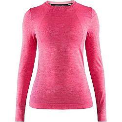 Craft FUSEKNIT COMFORT LS ružová XL - Dámske funkčné tričko