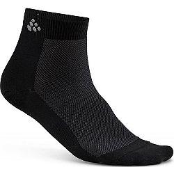 Craft GREATNESS MID 3 PACK čierna 43/45 - Funkčné ponožky
