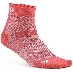 Craft GREATNESS  MID 3-PACK oranžová 43/45 - Funkčné ponožky