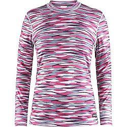 Craft MIX AND MATCH W LS ružová L - Dámske funkčné tričko