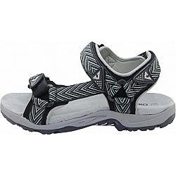 Crossroad MADDY GRY biela 40 - Pánske sandále