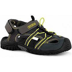 Crossroad MAGAR žltá 37 - Dámske sandále