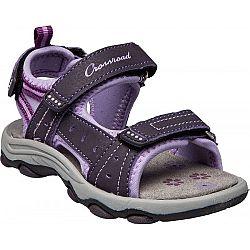 Crossroad MEGAN II fialová 27 - Detské sandále